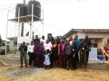 PPSL Bore hole project for sangotedo community commissioning